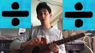 Video Dive Ed Sheeran  Acoustic Guitar Tutorial download MP3, 3GP, MP4, WEBM, AVI, FLV Januari 2018