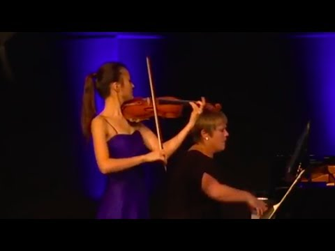 J. Brahms Violin Sonata No. 3: 1st movement | Sumina Studer & Sarah Watkins