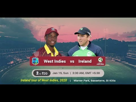 WEST INDIES VS IRELAND LIVE Stream | LIVE CRICKET MATCH TODAY | T20
