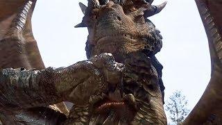 【穷电影】远古巨龙见到人类国王,只是掀开了鳞片,却把他给吓走了
