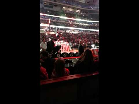 Chicago Bulls 2013-14 starting lineup introduction