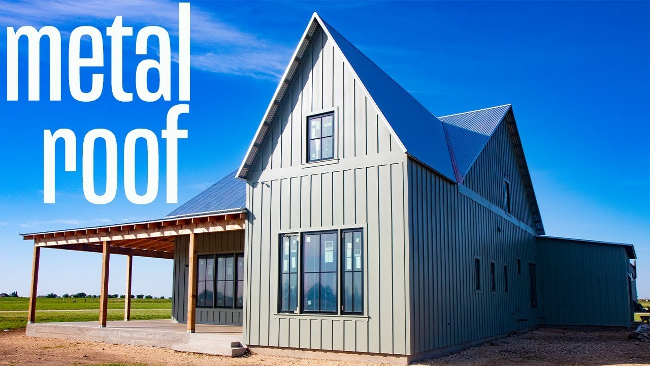 The Best Metal Roof For A Modern Farmhouse Galvanized Vs
