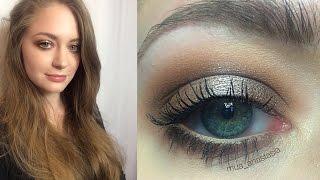 Вечерний макияж пошагово в нейтральных тонах: видео-урок
