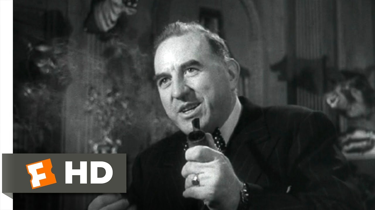 Sorry, Wrong Number (7/9) Movie CLIP - A Controlling Father-in-Law (1948) HD