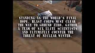 Blast Corps Opening Introduction
