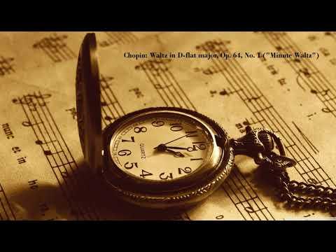"""Chopin: Waltz in D-flat major, Op. 64, No. 1 (""""Minute Waltz"""")"""