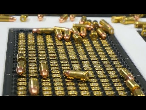 You won't believe how bullets are produced. - Modern Bullet Production.