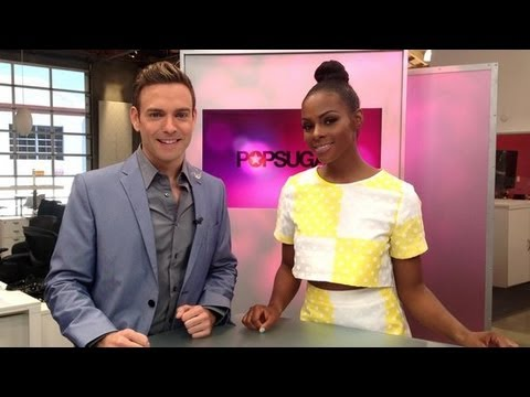 Tika Sumpter on Meeting Oprah and Kissing Chace Crawford!  POPSUGAR