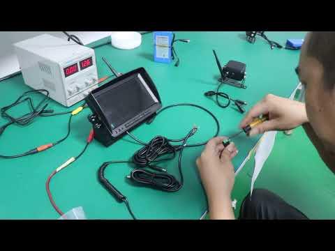 Digital Wireless Rear Camera Observation System With DVR