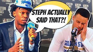 What NBA Players REALLY THINK Of James Wiseman | Golden State Warriors