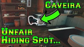 NEW Amazing Hiding Spot for Caveira - Rainbow Six Siege
