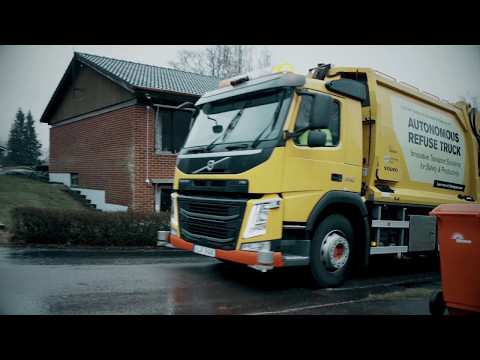 Volvo Trucks - Refuse handling like you've never seen it before (autonomous truck)