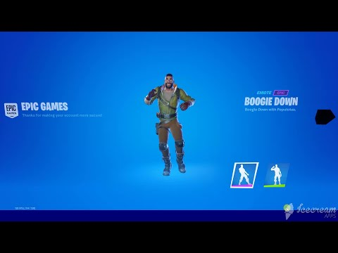How To Get The Boogie Down Emote