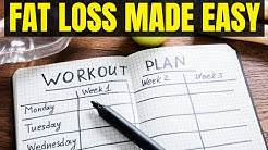The Best Fat Loss Workout Plan For Men - Complete Overview