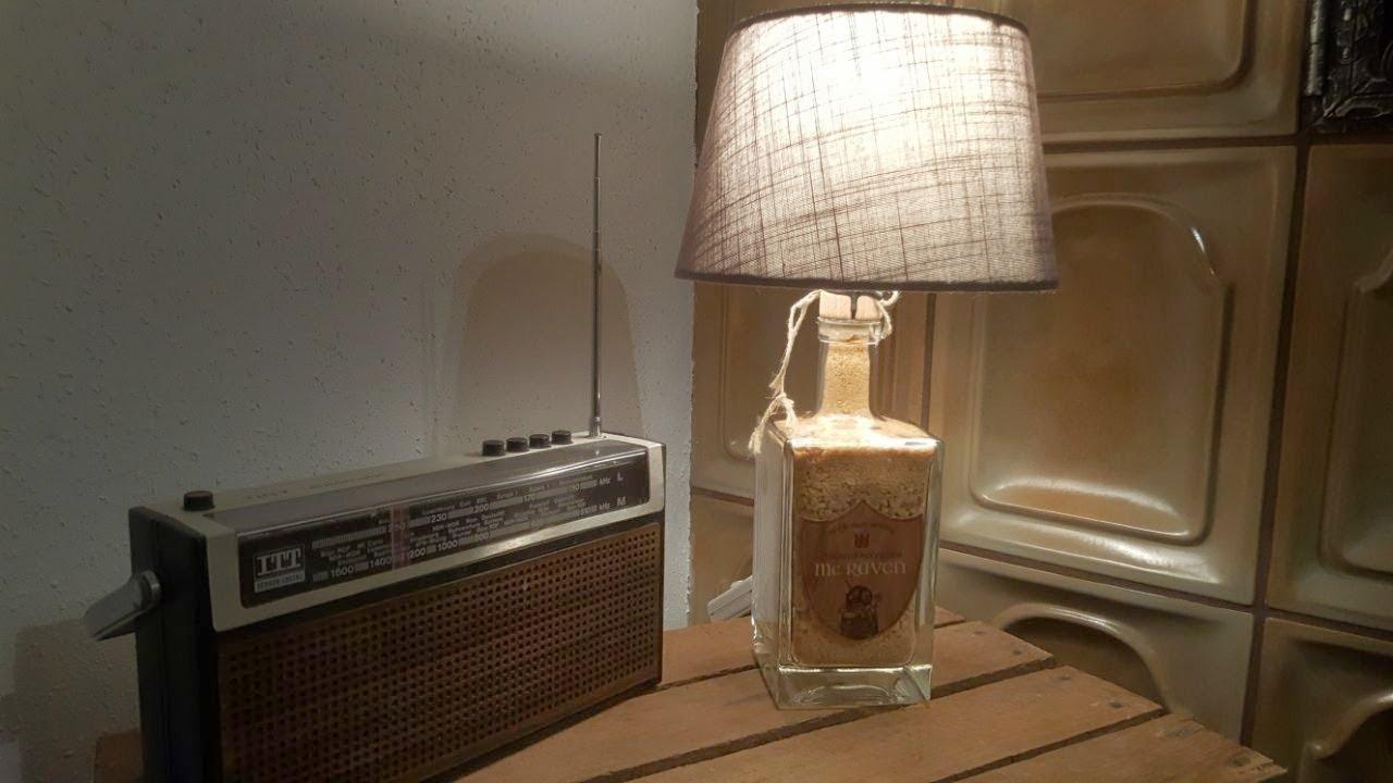 jack daniels 3 liter flasche zur lampe umbauen