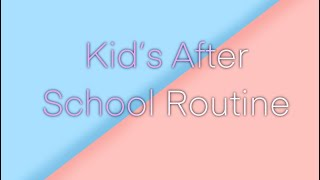Kid's After School Routine | Roblox Bloxburg Role play | SimplyPastel