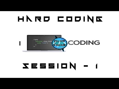 Hard Coding - Session 1 | Music session for coding