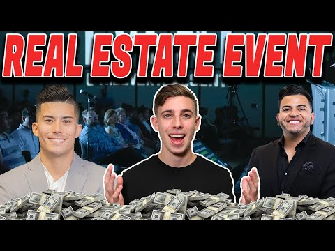 The Event Wholesaling Real Estate, Ryan Pineda Alex Saenz Jacob Blank