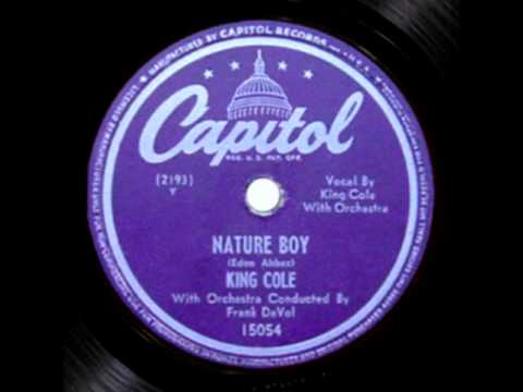 Nat King Cole - Nature Boy (1948 First Recording)