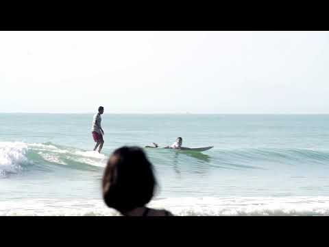 Cruising Friday with my homeboy. Cherating surf, Malaysia
