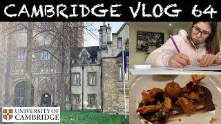 CAMBRIDGE VLOG 64: rocket science & fancy meals