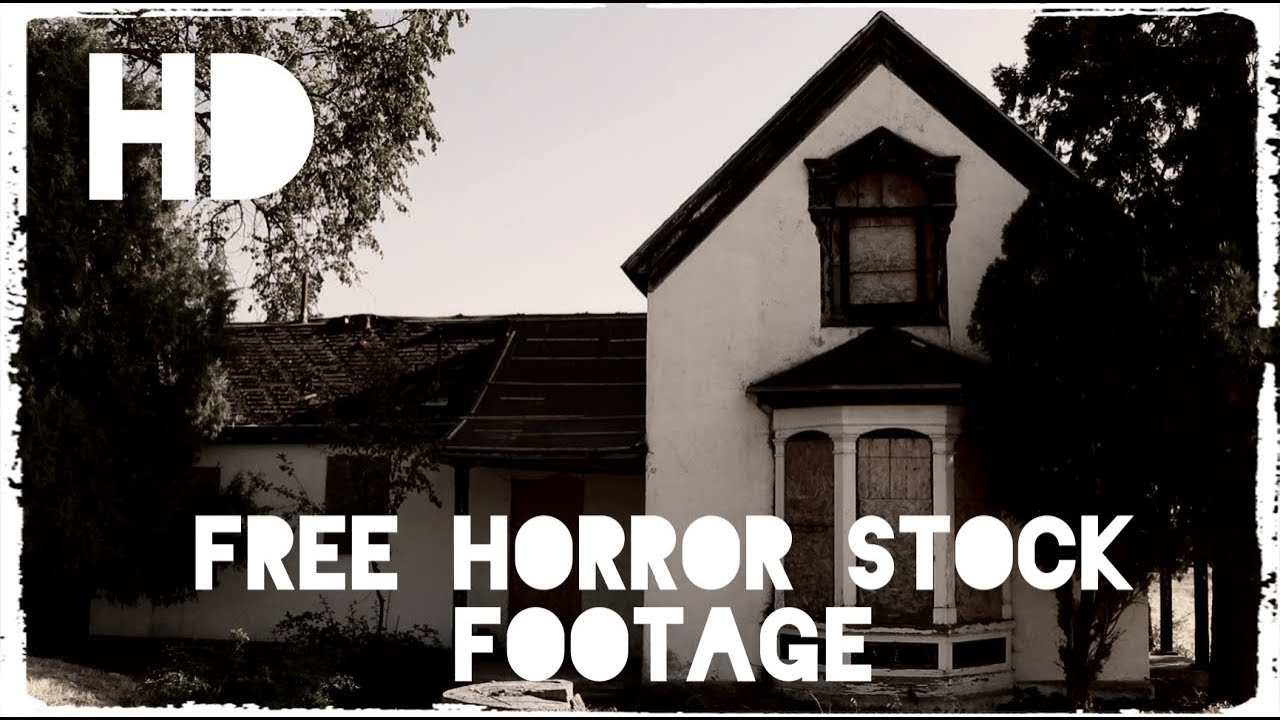'CREEPY ABANDONED HOUSE' Free Stock Footage HD