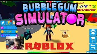 BUBBLE GUM SIMULATOR | ROBLOX | Review Toys Review