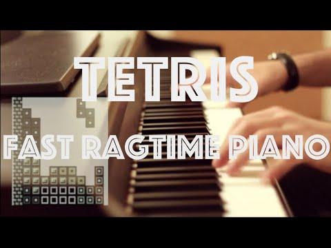 Tetris / Korobeiniki - Fast Ragtime Piano Cover