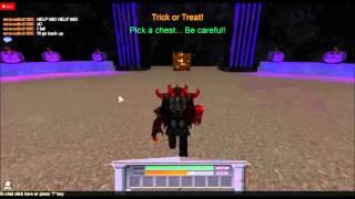 Roblox Halloween 2013: Treasure Chest Glitch/Trick