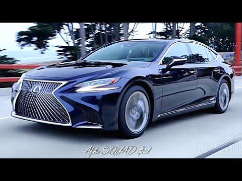 2018 Lexus LS500h Nightfall Mica AWD  ALLNEW Lexus LS