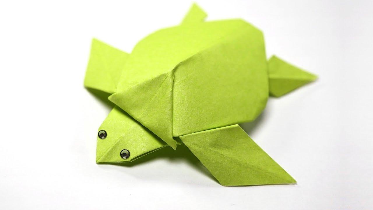 Paper Turtle | Origami Turtle (Akira Yoshizawa) - YouTube | 720x1280