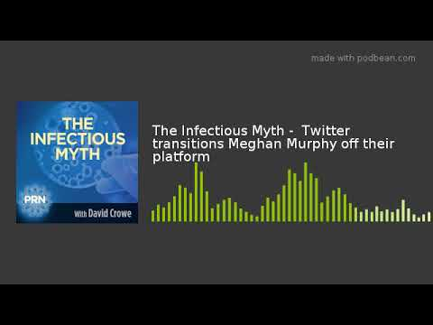 0df1ad224 The Infectious Myth - Twitter transitions Meghan Murphy off their platform  - YouTube