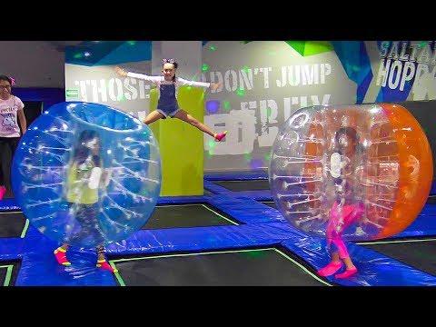 Esferas Gigantes y Trampolines !!! | TV Ana Emilia