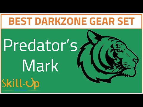 The Division | Predator's Mark Gear Set Review - The Best Darkzone Gear Set