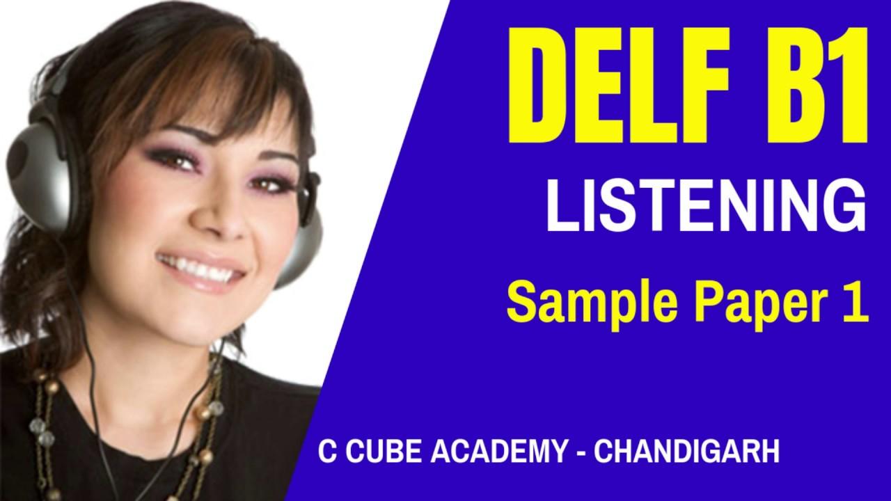 DELF B1 Listening Practice Test Online Comprehension Orale exercise DELF B1