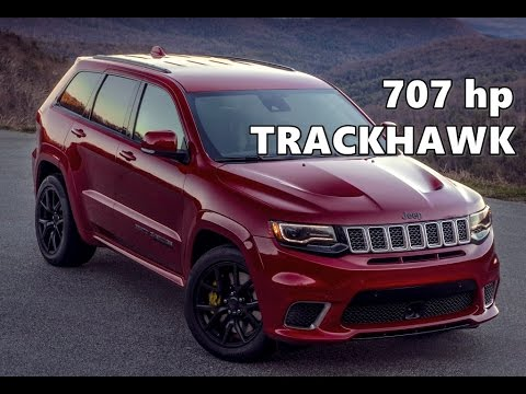2018 jeep 700 horsepower. Brilliant 2018 2018 Jeep Grand Cherokee Trackhawk 707 Hp Throughout Jeep 700 Horsepower