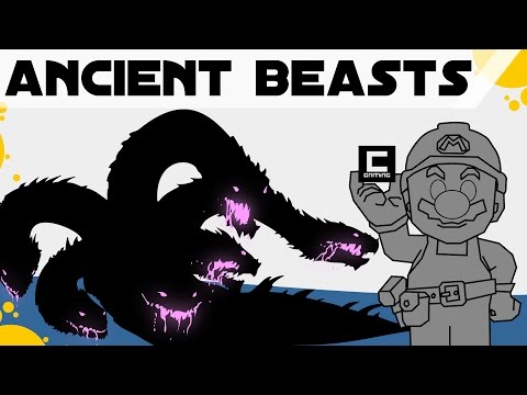 5 Tips, Tricks and Ideas for Ancient Beasts inspired by Greek Mythology in Super Mario Maker.