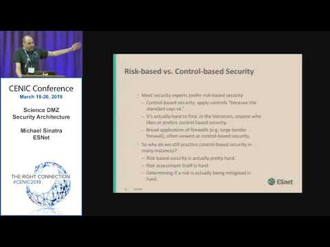 CENIC 2019: Science DMZ Security Architecture (3/19/2019)