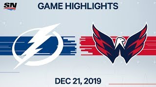 NHL Highlights | Lightning vs. Capitals – Dec. 21, 2019