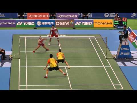 Badminton XD Liu,Bao vs Kido,Bernadeth...