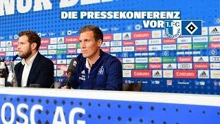 RELIVE: Die Pressekonferenz vor dem Auswärtsspiel beim 1. FC Magdeburg