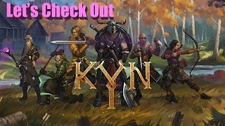 Kyn Gameplay - Viking inspired RPG with squad based tactics: Kyn Gameplay PC