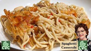 Chicken Spaghetti Casserole, Aฑ Old Southern Recipe