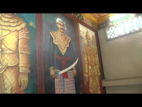 Thai Kings, Art Gallery, World War II and JEATH War Museum, Kanchanaburi