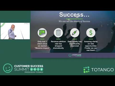Million Dollar Bet - We're All-in In Customer Success - Customer Success Summit 2018