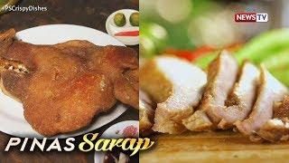 Pinas Sarap: Crispy ulo at crispy sinuso ng mga Bulakenyo, ibinida sa 'Pinas Sarap'