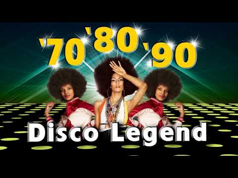 Best Disco Dance Songs of 70 80 90 Legends  Golden Eurodisco Megamix Best disco music 70s 80s 90s