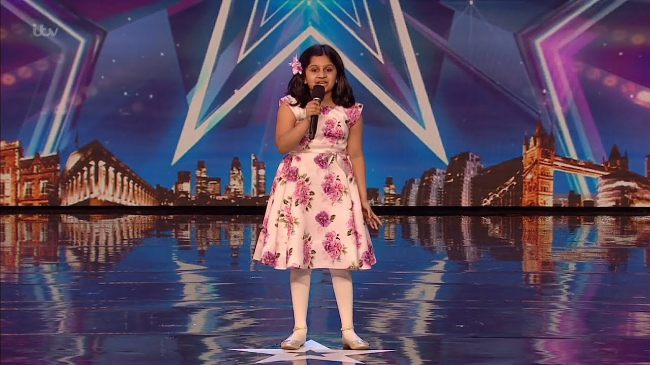 Britain's Got Talent 2020 Souparnika Nair 10 Year Old Singer Full Audition S14E07
