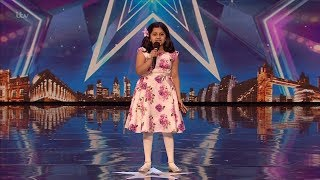 Download song Britain's Got Talent 2020 Souparnika Nair 10 Year Old Singer Full Audition S14E07