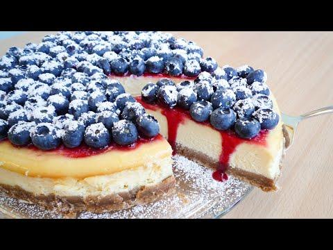 American Cheesecake I amerikanischer Käsekuchen I super cremig